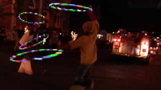 Night Parade LED Fire Hooping