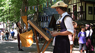 Flag Dance to Hammered Dulcimer