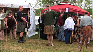 Utilikilt Interview and Fitting