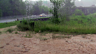 Storm flood